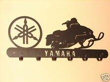 Yamaha Snowmobile COAT RACK Robe Hook Metal Cabin Sled