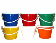 1 Gallon Bucket & Lid Lead Free Food Safe Pail Mfg.USA No BPH Durable Secure