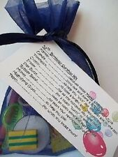 50TH BIRTHDAY SURVIVAL KIT NOVELTY GIFT / CARD MALE