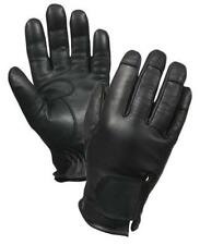 Deluxe Leather Spectra Lined Gloves -Black