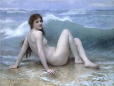 The Wave William Bouguereau Giclee Canvas Picture Print