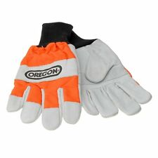 OREGON LEATHER CHAINSAW ARBORIST  PROTECTED GLOVES