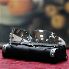 NEW MENS CELEBRITY SUNGLASSES GOGGLE STYLE SHADE SPORTY