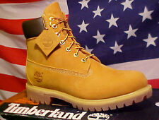 New TIMBERLAND Classic Wheat Work Boots Shoes 10061
