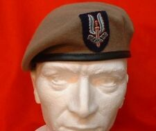 Special Air Service Beret And Badge SAS Beret + OR`S Badge ( Army Berets )