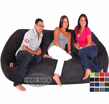 Bean Bag Chair Factory Direct By Cozy Sack Micro Suede 8' Huge Sack