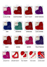 Heartwarmers Mini Hot Water Bottles Great Gifts For Him For Her Nana Dad Friends