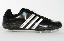 Adidas Scorch 7 D Low Football Cleats Removable Cleats Mens Black NWT