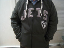 NWT New York Jets Green Full Zip Hooded Sweatshirt - Sizes M - XL