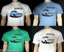 ESCORT MK1 RS2000 T-SHIRT  in White Ash Grey Natural Red Blue or Green - 5 sizes