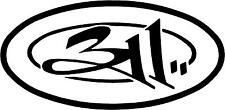 311 Band Music Decal Sticker Free Shipping