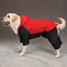 Casual Canine Snowsuit Nylon Winter Dog Coat Red