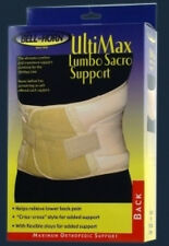 UltiMax Lumbo Sacro Support Lower Back Muscle Relief Abdominal Belt Surgery NEW