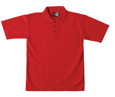 School Boys Quality Easy Iron Short Sleeve Polo Shirt All Sizes and Colours