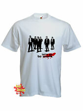 LET'S GO TO WORK Reservoir Dogs movie Tarantino T shirt ALL SIZES