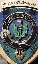 SCOT CRESTS: Scottish Gifts Clan Crested Wall Plaques MacPhail to Ogilvy