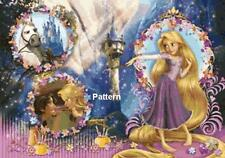 Tangled. Cross Stitch Pattern. Paper Version or PDF Files. Free shipping!!!