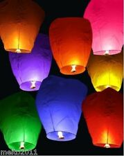 2pcs Chinese KongMing Sky Fire Lanterns For Party Wedding Birthday Hot 9 Color