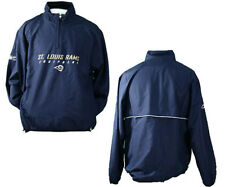 St. Louis Rams 1/4 Zip Hot Jacket/Windbreaker by Reebok | Many Sizes