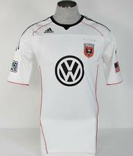 Adidas ClimaCool Techfit DC United White Short Sleeve Soccer Football Jersey NWT