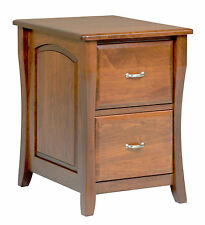Amish File Cabinet Solid Wood Wooden Vertical Office Home 3-Drawer New