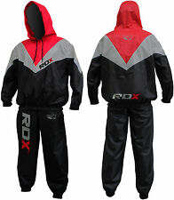 RDX Heavy Duty Sauna Sweat Track Suit Weight loss Slimming Boxing Gym Belt Fat V