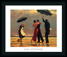 The Singing Butler by Jack Vettriano Couple Dancing 20x16 Framed Art Print