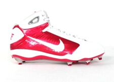 Nike Zoom Flywire Red & White Football Cleats Shoes Removable Cleats Mens NEW