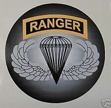 STICKER US ARMY VET FORCE RANGER BASIC PARACHUTE