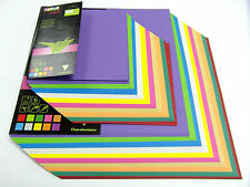 Origami Paper 100 Double Sided Coloured Sheets 20x20cm 12x12cm Square Paper Pack