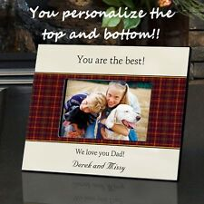 FATHERS DAD CUSTOM PERSONALIZED PHOTO FRAME! 6 DESIGNS -FREE SHIPPING