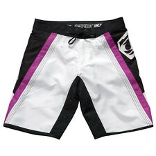 Jet Pilot Women's Rebound Ride Shorts Swim Suit Trunks Board Purple/White/Black