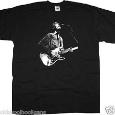 David Byrne On Stage Photo With Talking Heads T Shirt New Wave Punk