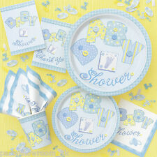Baby Shower Blue Boy Party Tableware Decorations - All Items Listing PS