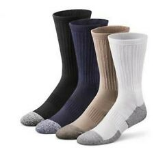Dr Comfort Diabetic Crew Length Socks Supports Shape to Fit Seamless Unisex NEW