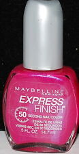 Maybelline Express Finish 50 Second Nail Color Polish 639/659/660/661/662 Pick 1