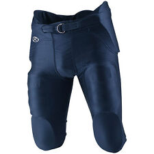 Rawlings F2500P Youth Football Game Pants with Pads Built-In, Shiny