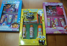 INFANT/TODDLER BOYS OR GIRLS   DORA, PRINCESS, OR SPONGEBOB TRAVEL BATH SETS