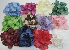 200 Biodegradable Paper Rose Petals Choice Of Colours
