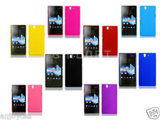 Hot New Hard Plastic Back Mobile Cell Phone Case Cover For Sony Xperia Z c6603