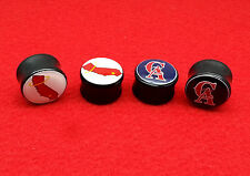 "New Acrylic Customize Plugs.Your Pcture in your plugs { 2 Gauge to 1"" inch }"