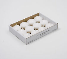 Small Unscented Floating Candles (12 Pieces) - Choose From 9 Colors