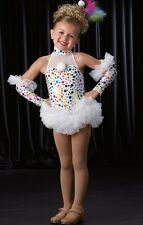 CINDY LOU WHO? w/Mitts Clown HALLOWEEN Dance Costume SIZE