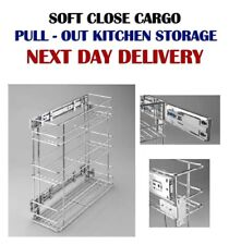 SOFT - SELF CLOSE, PULL - OUT KITCHEN STORAGE 150 mm, 200 mm  W-2314