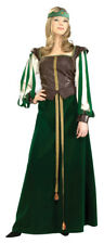 MAID MARION DESIGNER COLLECTION RENAISSANCE FAIRE MEDIEVAL ADULT WOMENS COSTUME