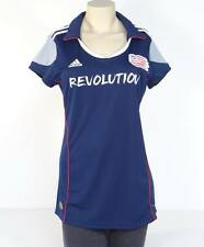 Adidas ClimaCool MLS New England Revolution Navy Blue Soccer Jersey Womans NWT