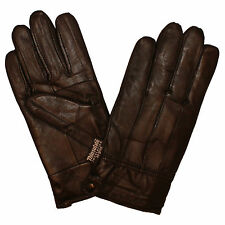 Mens 100% Genuine Leather Gloves with Winter Warm 3M Thinsulate Thermal Lining
