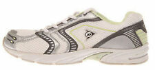 Ladies Shoes Runners/Sneakers Dunlop White/Mint Lace up Runner Size UK 6 to 10