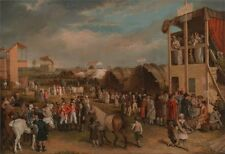 Photo Print Reproduction An Extensive View Of Oxford Races Charles Turner