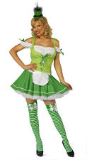 FANCY DRESS LEPRECHAUN OUTFIT 2 PIECE AV IN SIZES8-18